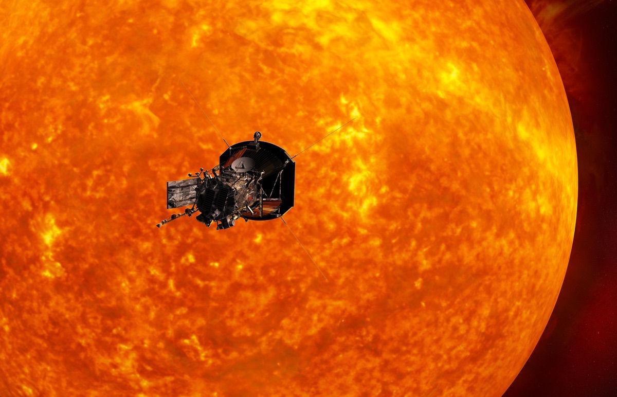 Uma Nave Espacial poderia voar até o Sol?