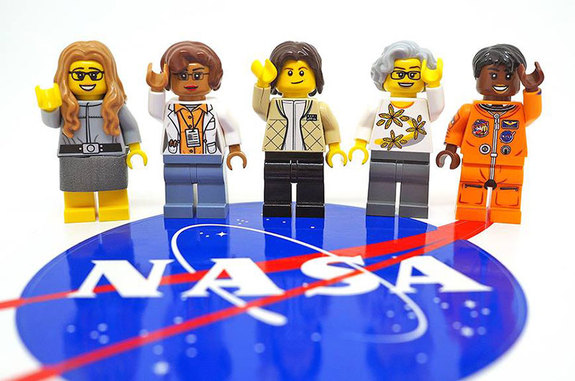 The Women of NASA Lego set will include minifigures modeled after computer scientist Margaret Hamilton, mathematician Katherine Johnson, astronaut Sally Ride, astronomer Nancy Grace Roman and astronaut Mae Jemison.