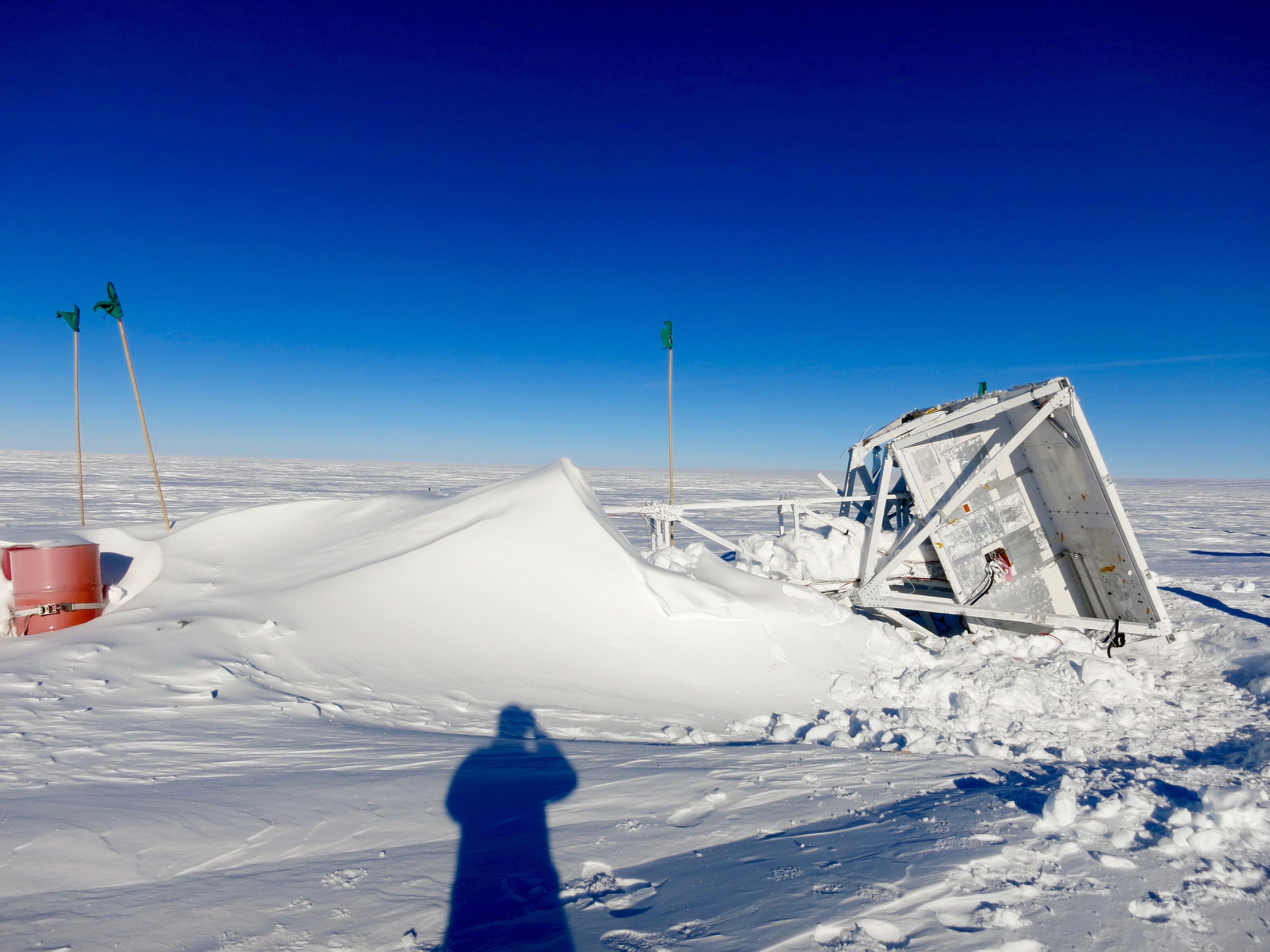 Lost and Found: Antarctic Balloon Telescope in Good Shape After a Year on the Ice