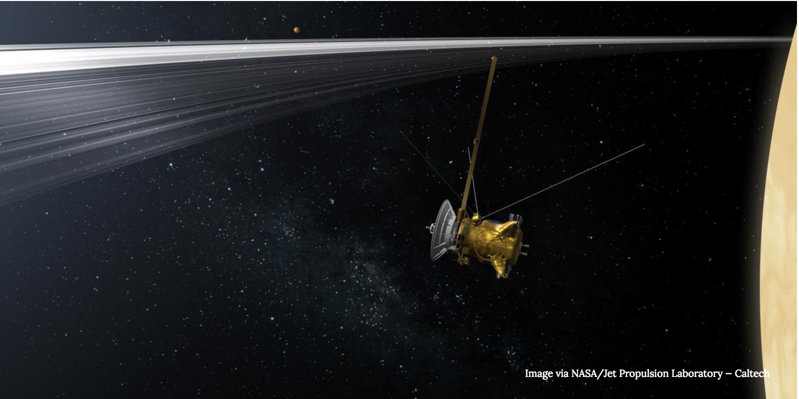 What Cassini's Daring Ring-Dive Around Saturn Could Tell Us About Uranus