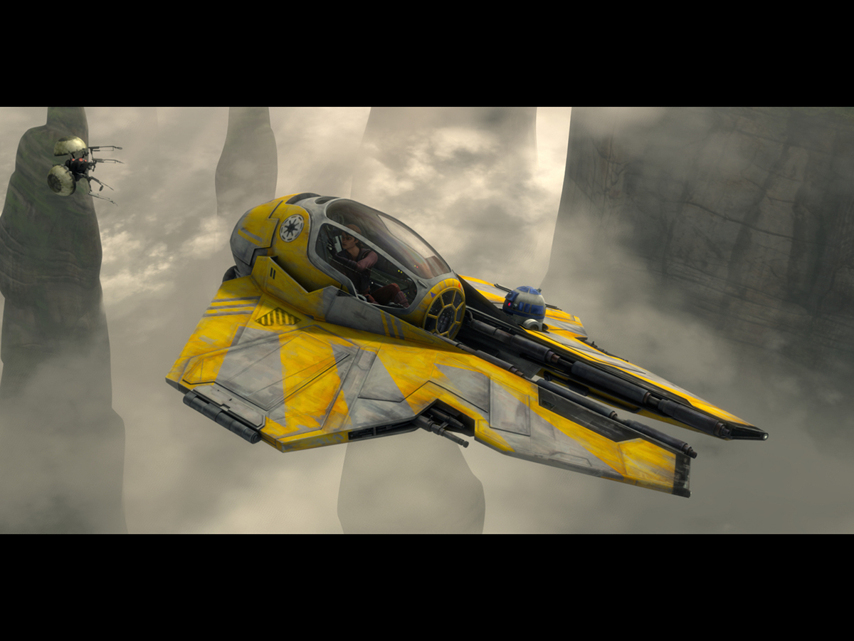 #15: Jedi starfighters
