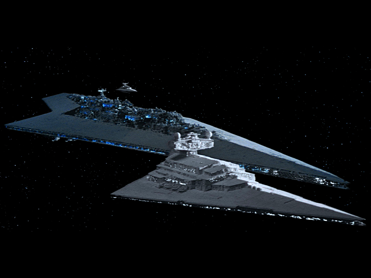 #8: Imperial Star Destroyer and Super Star Destroyer