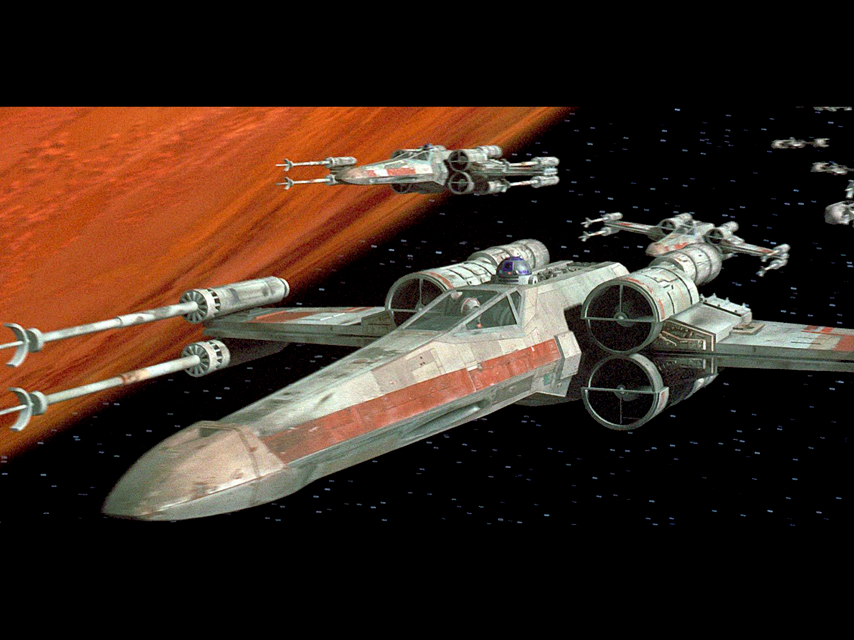 #2: Original X-wing Starfighter