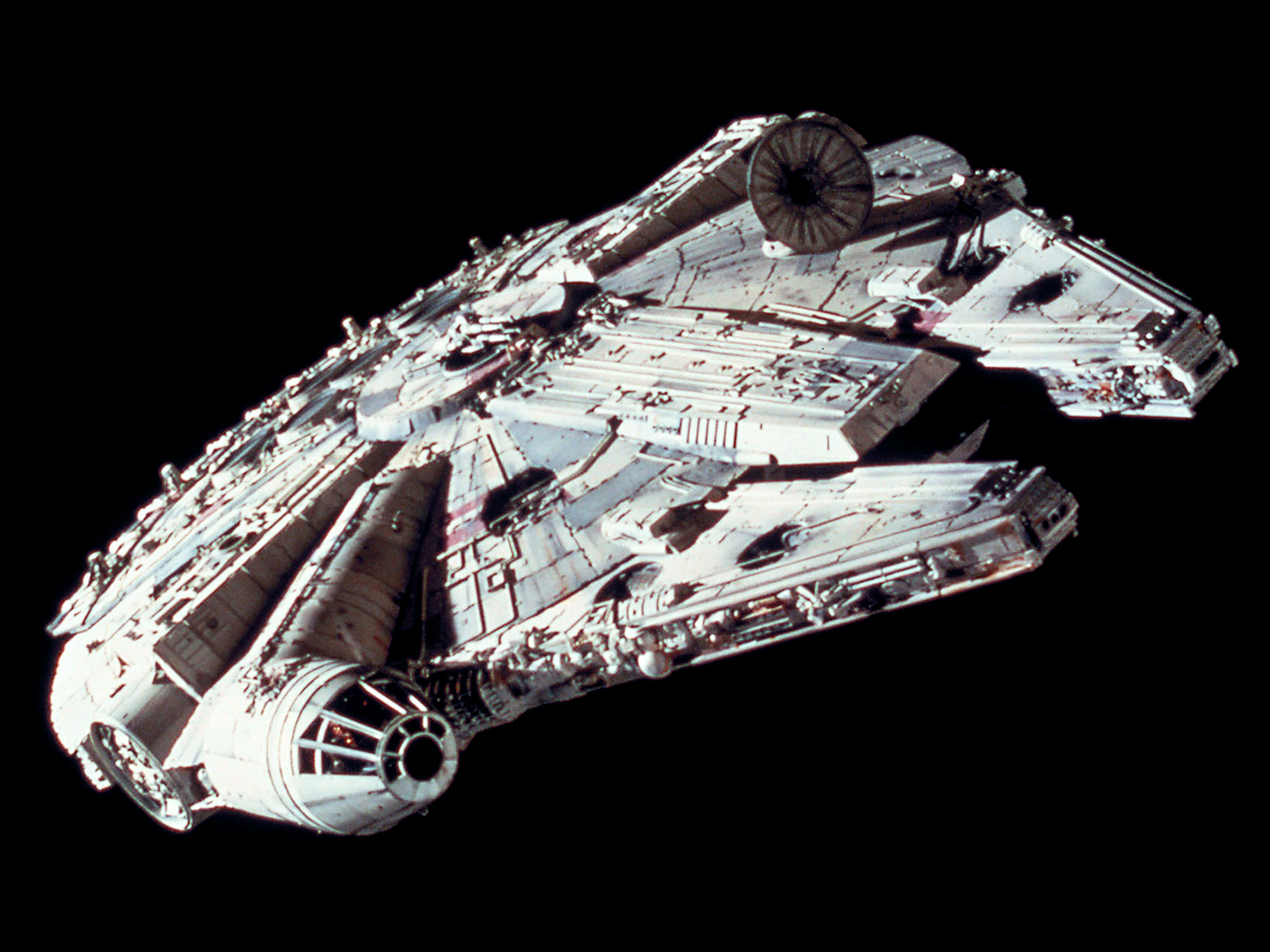 #1: The Millennium Falcon